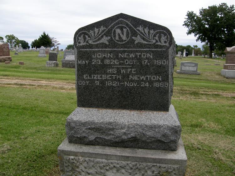 Mary Elizabeth <i>Carter</i> Newton