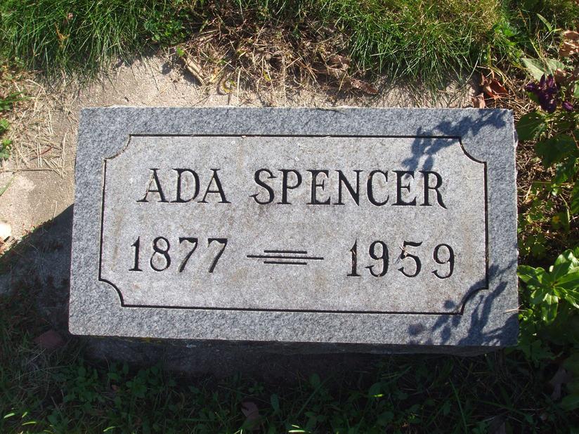 Ada <i>Mycock</i> Spencer