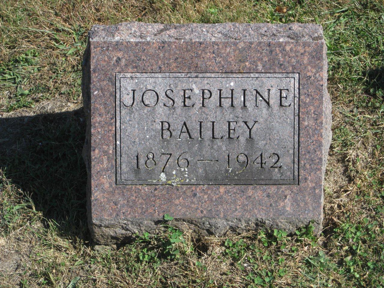 Josephine <i>Hunter</i> Bailey