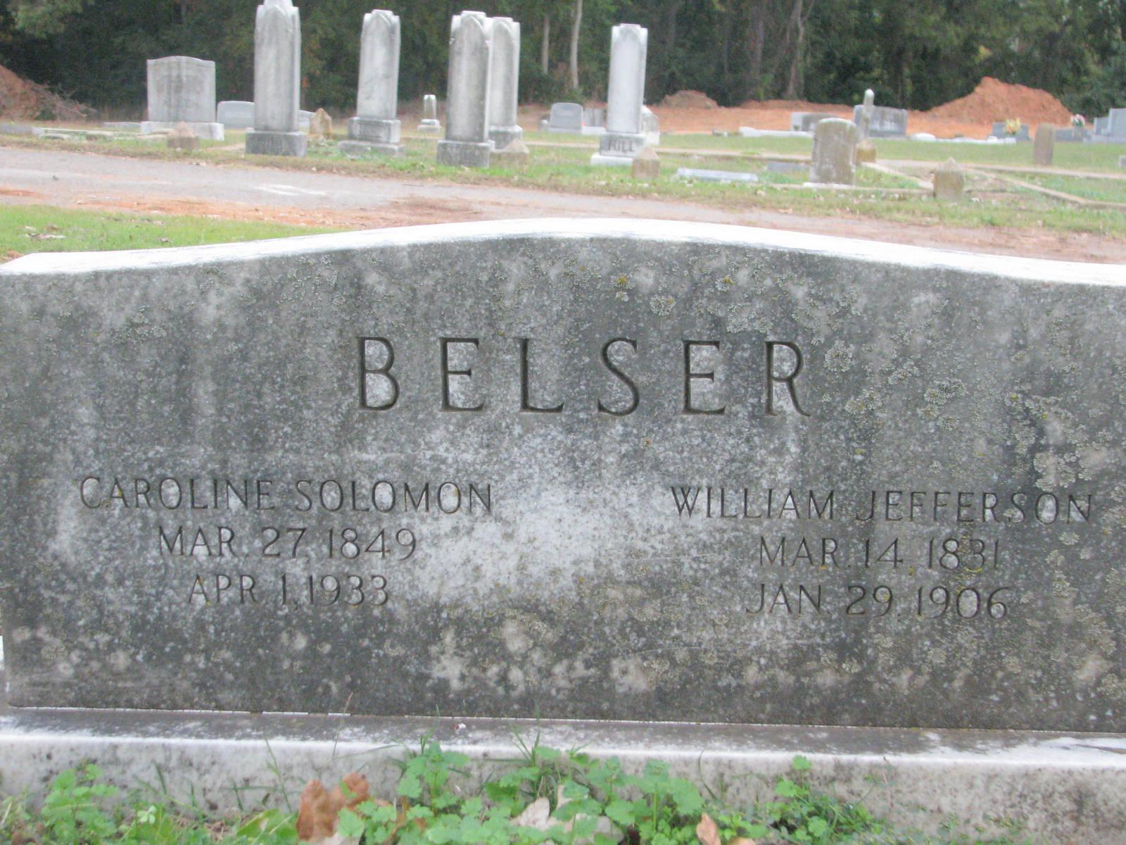 Caroline Whitehead <i>Solomon</i> Belser