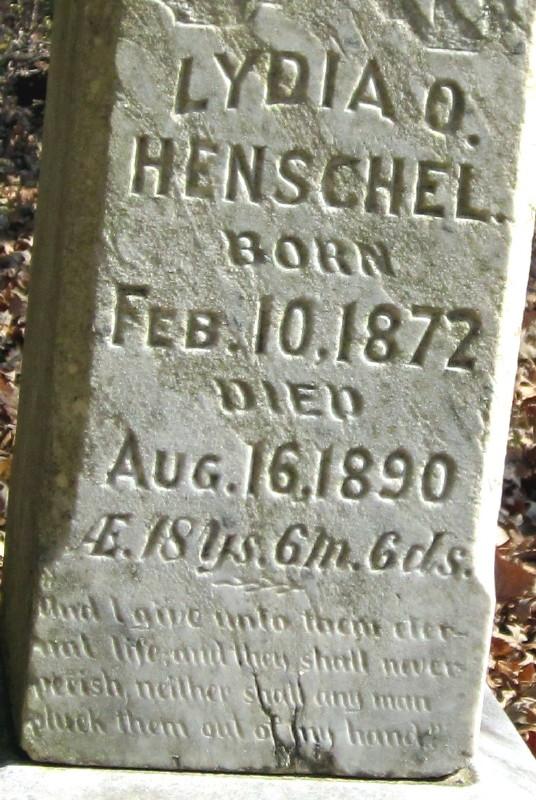Lydia O Henschel