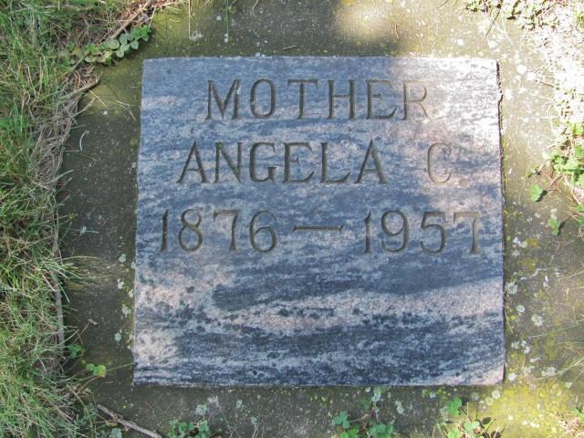 Angela Clara Angie <i>Schaefer</i> Bovy