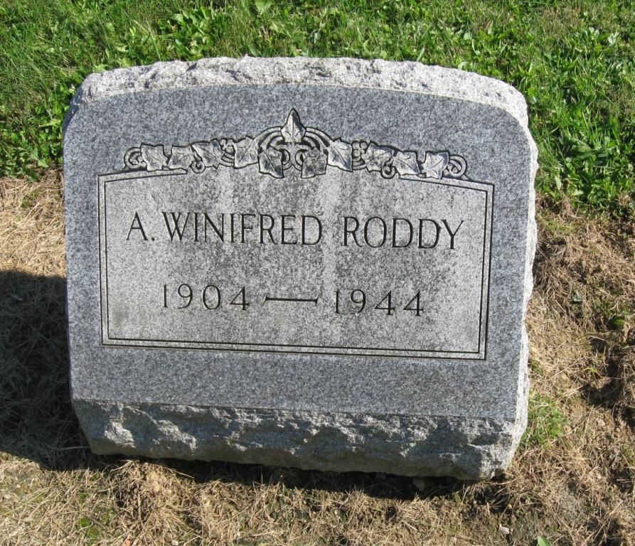 A. Winifred Roddy
