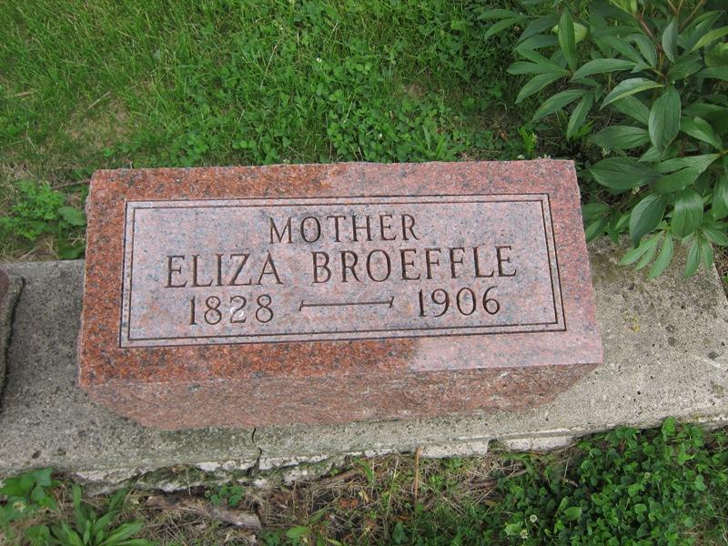 Eliza <i>Henderson</i> Broeffle