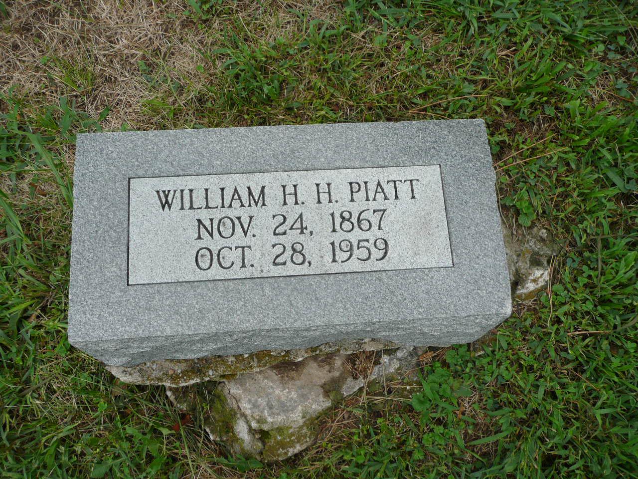 William Henry Harrison Bill Piatt