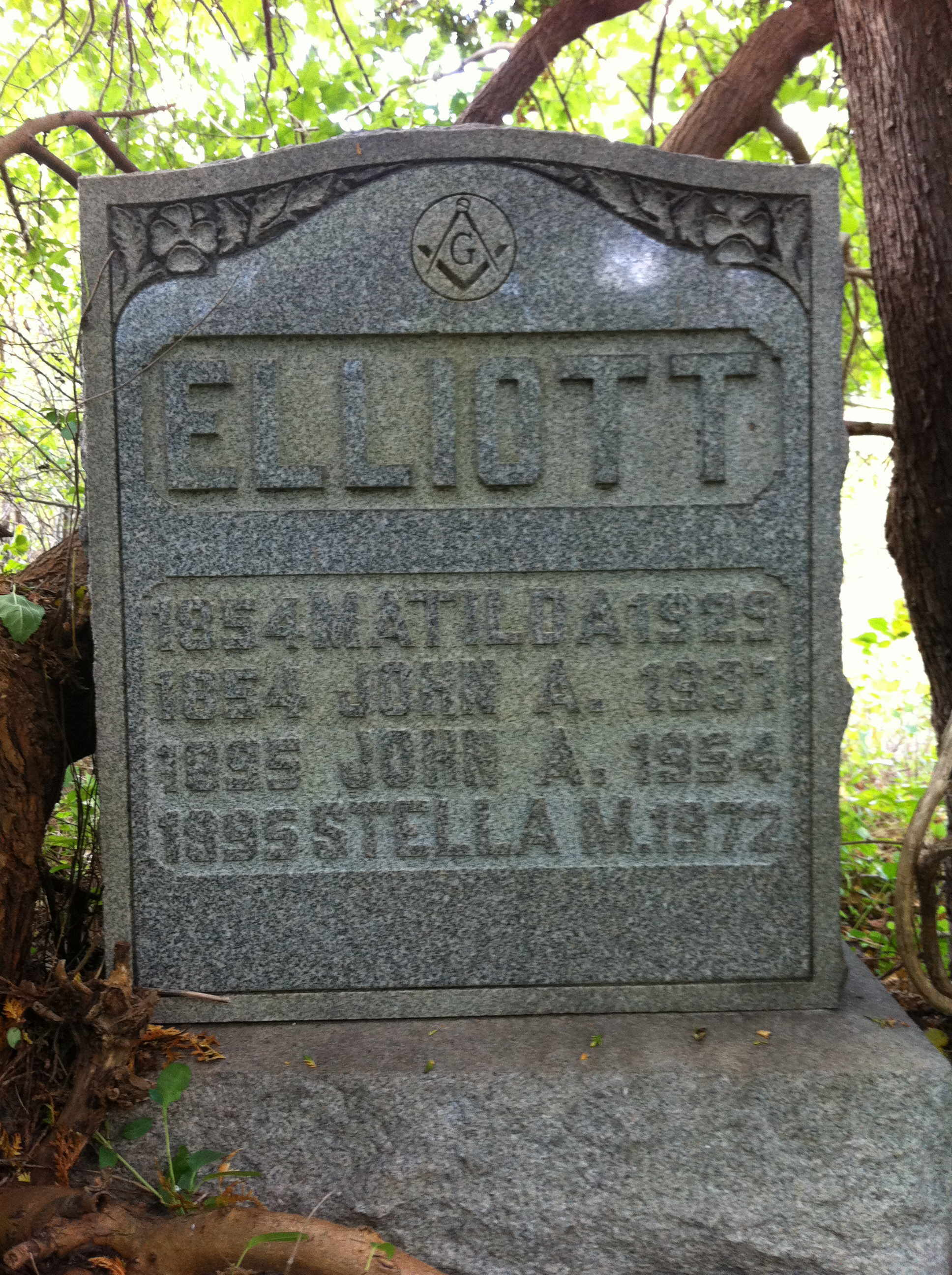 Stella May <i>Jackson</i> Elliott