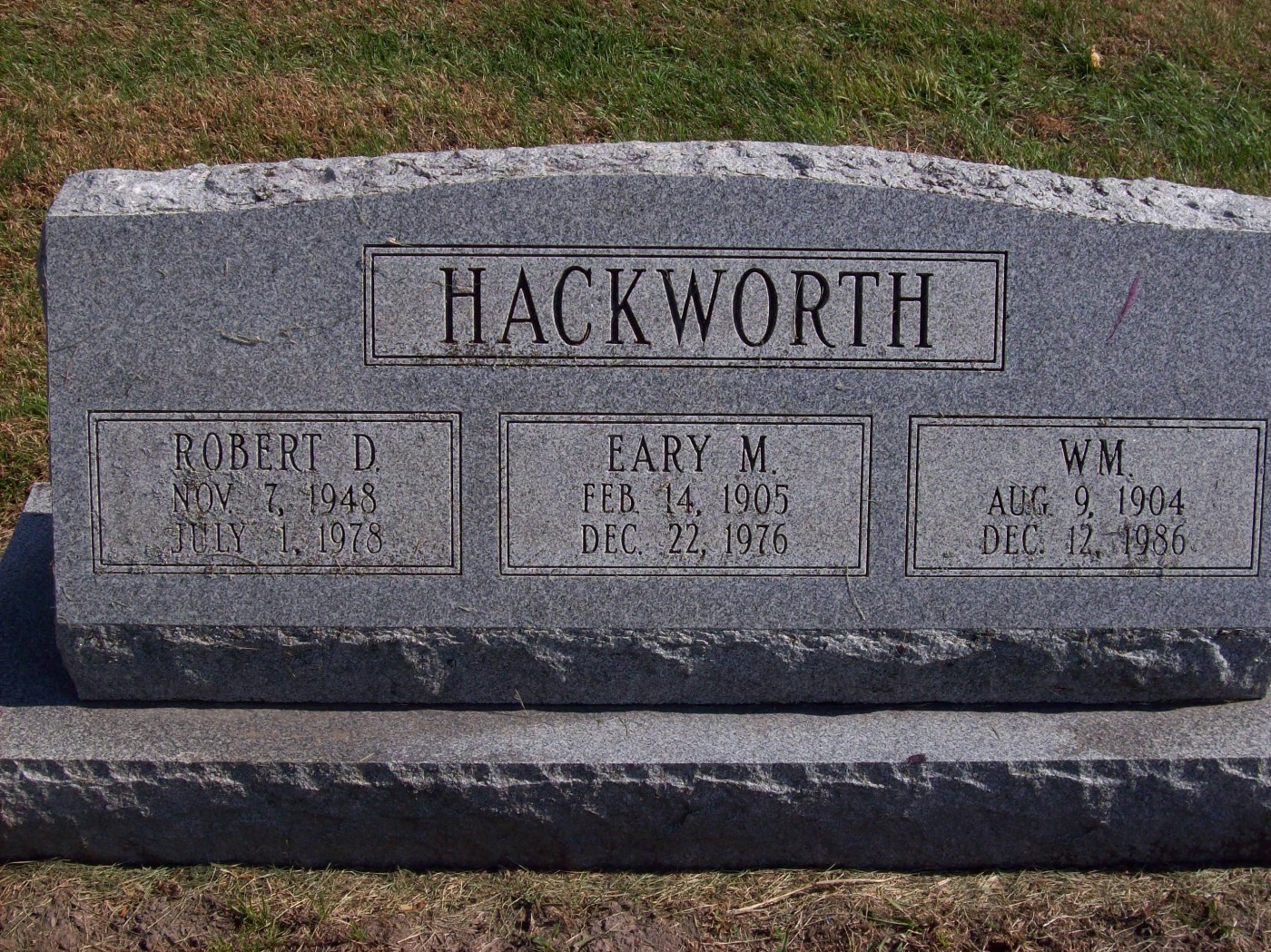 William Hackworth