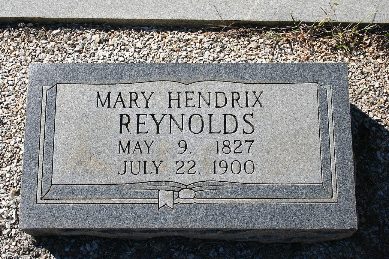 Mary Ann <i>Hendrix</i> Reynolds