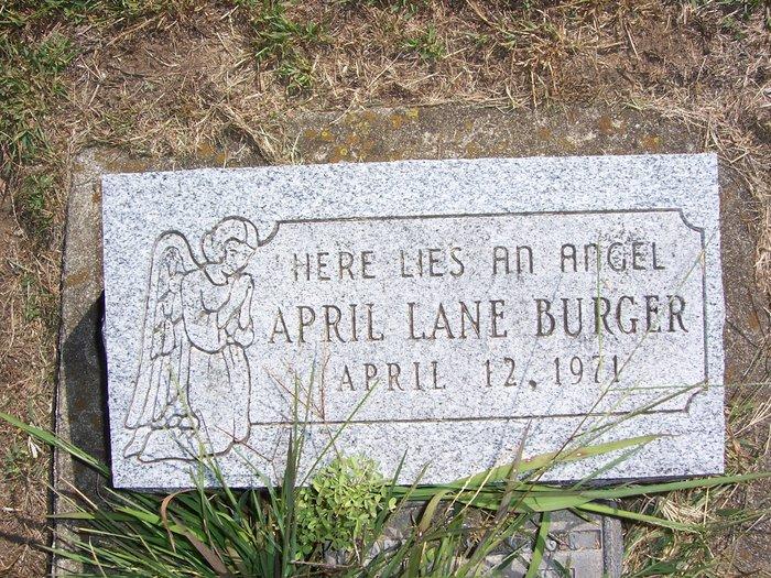 April Lane Burger