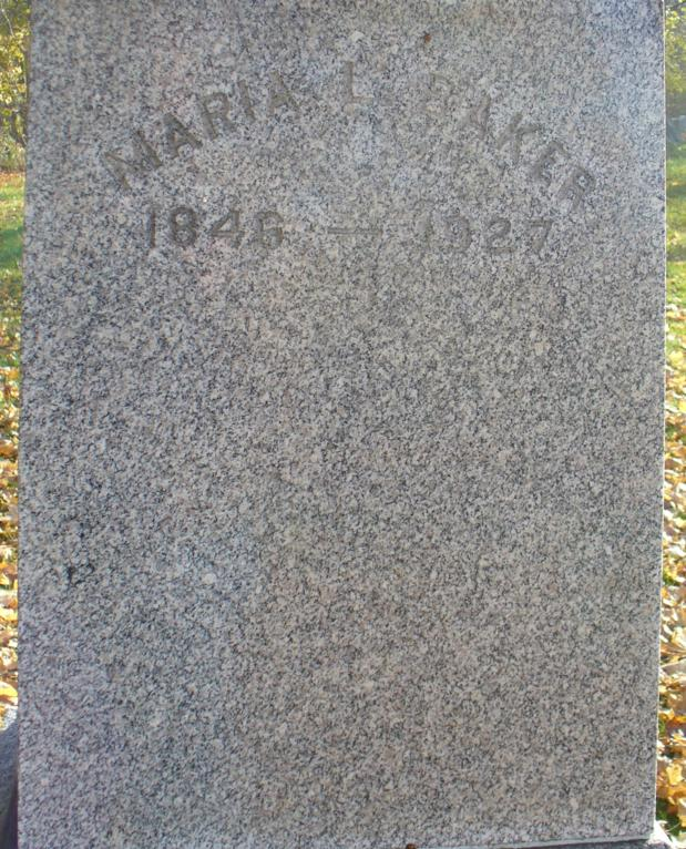 Maria L Baker
