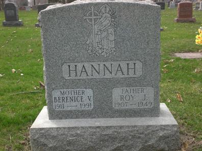 Bernice <i>Kelly</i> Hannah