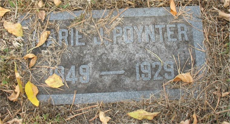 Marie J. Poynter