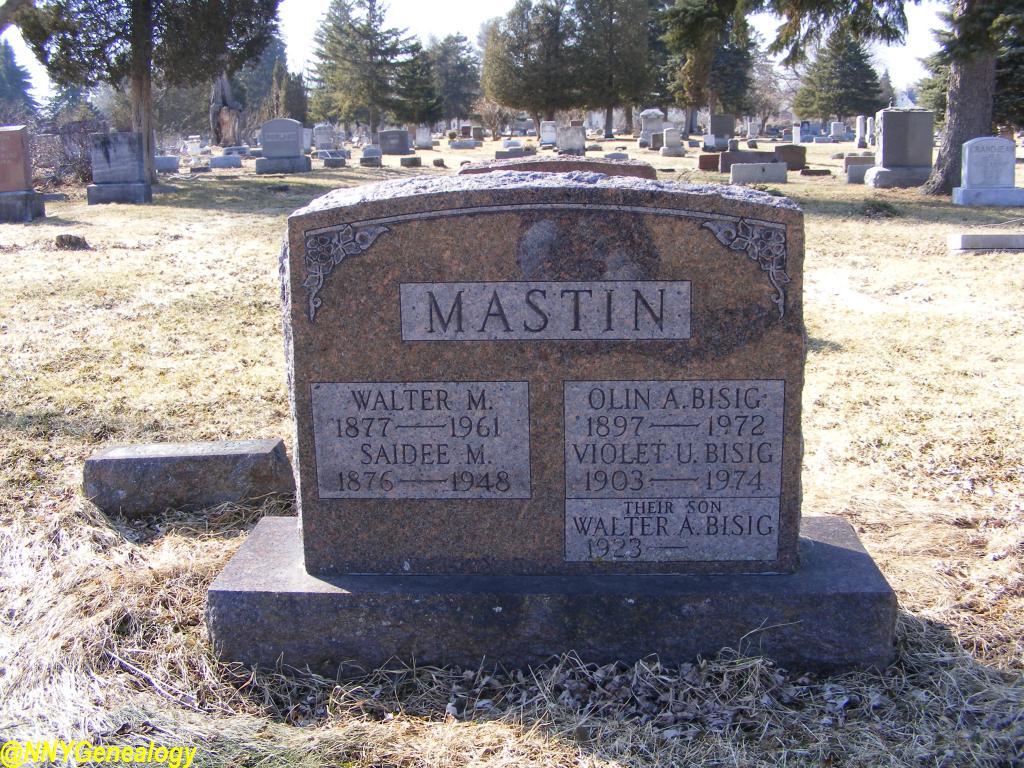Walter M Mastin