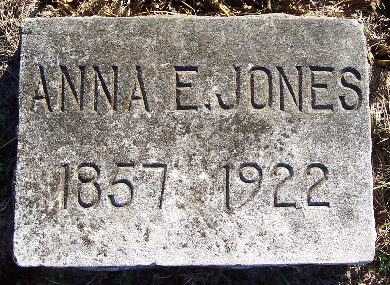Anna Elizabeth Annie <i>Bowles</i> Jones
