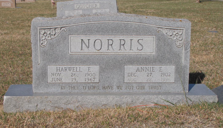 Annie Elizabeth <i>Husung</i> Norris