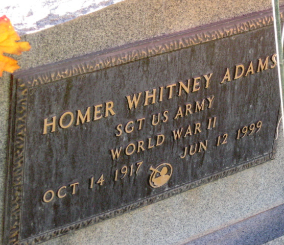 Homer Whitney Adams