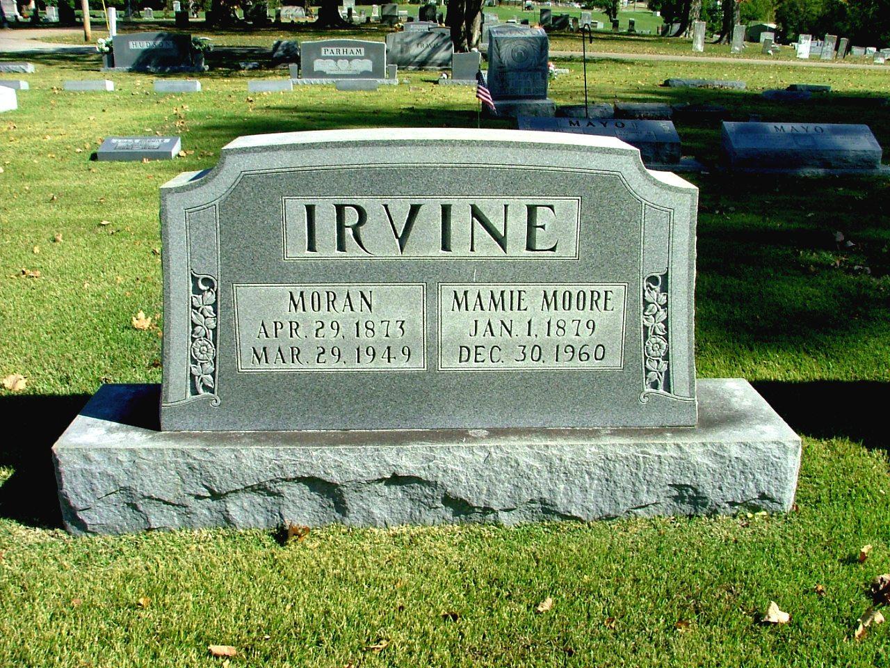 Dr Moran Blue Irvine