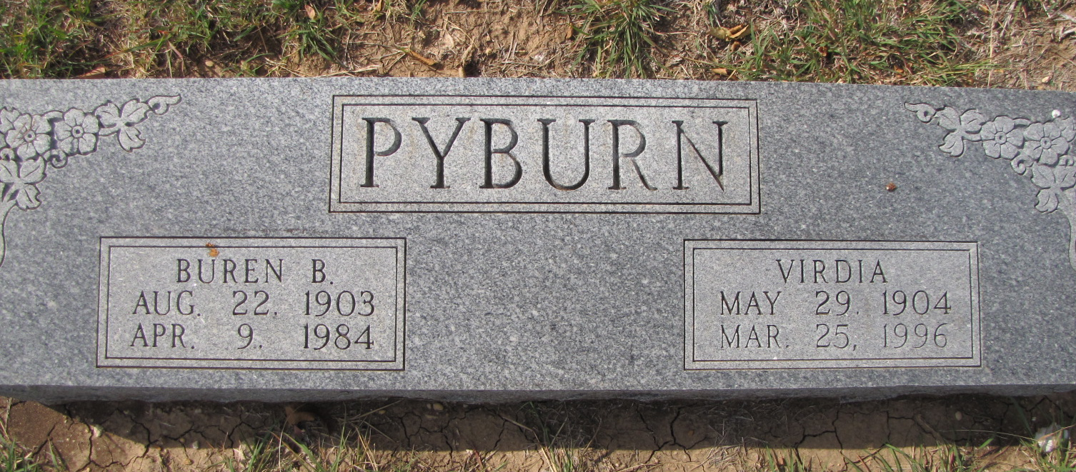 Virdia May <i>Blair</i> Pyburn