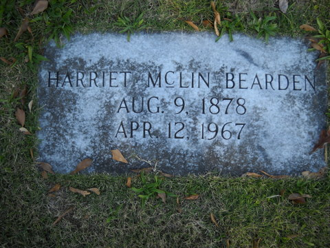 Harriet <i>McLin</i> Bearden