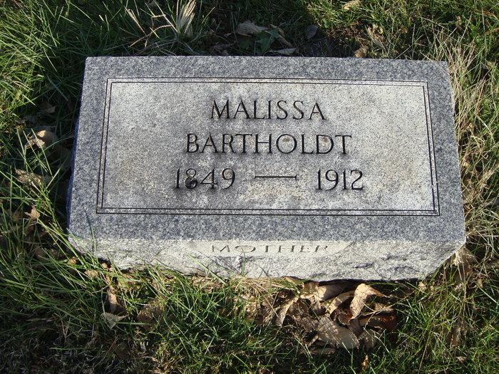 Malissa Wilma <i>Berry</i> Bartholdt