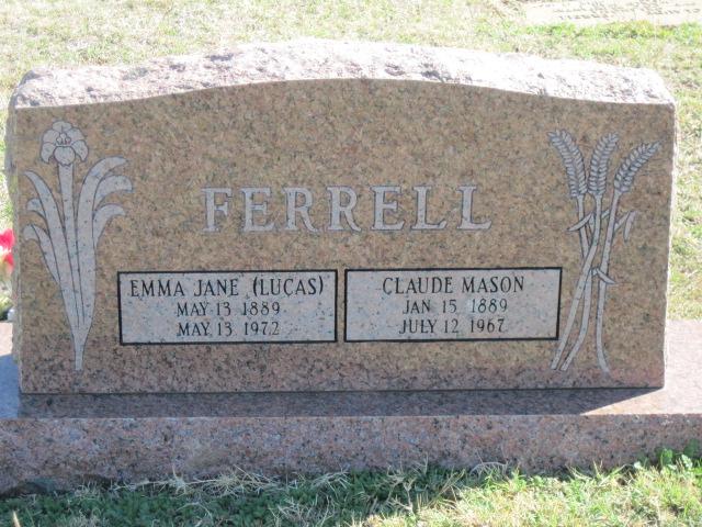Emma Jane <i>Lucas</i> Ferrell