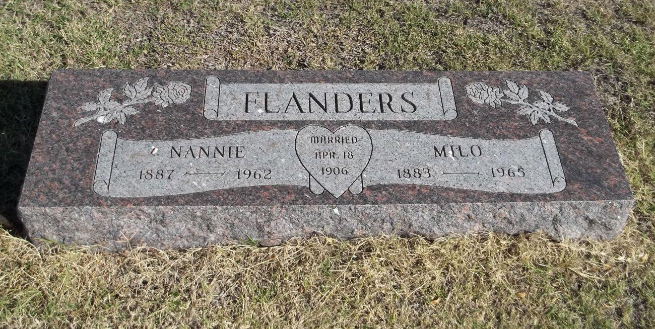 Nannie <i>Becker</i> Flanders