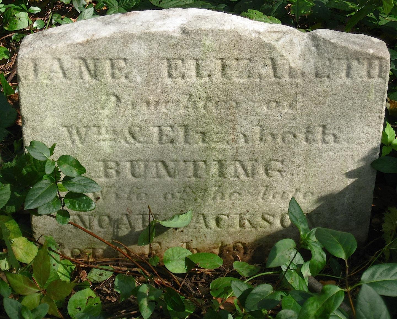 Jane Elizabeth <i>Bunting</i> Jackson