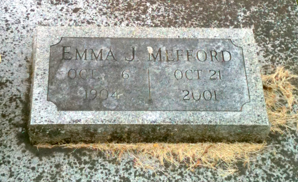 Emma Josephine <i>Folsom</i> Mefford