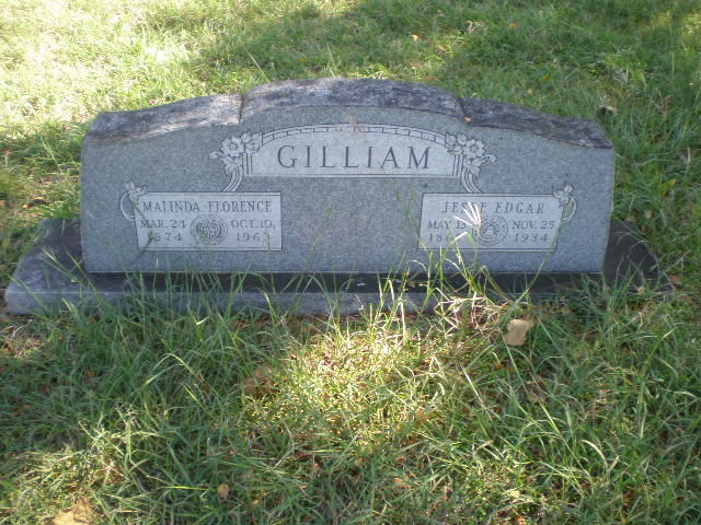 Malinda Florence <i>Edwards</i> Gilliam