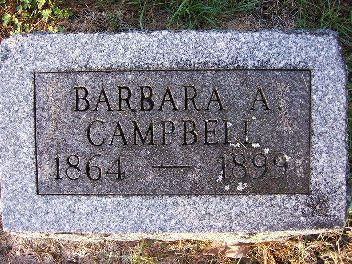 Barbara A <i>Leiter</i> Campbell