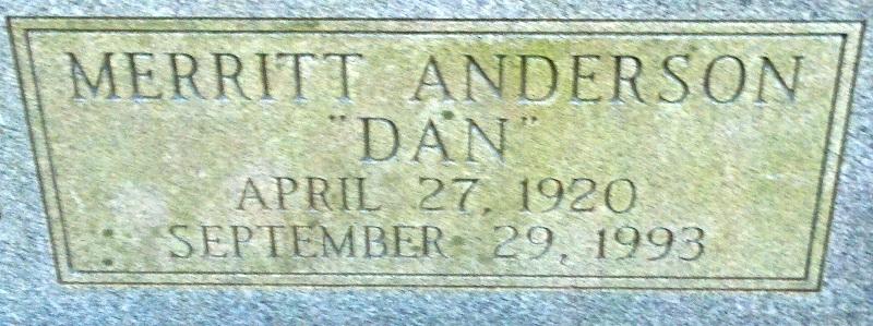 Merritt Anderson Dan Boone
