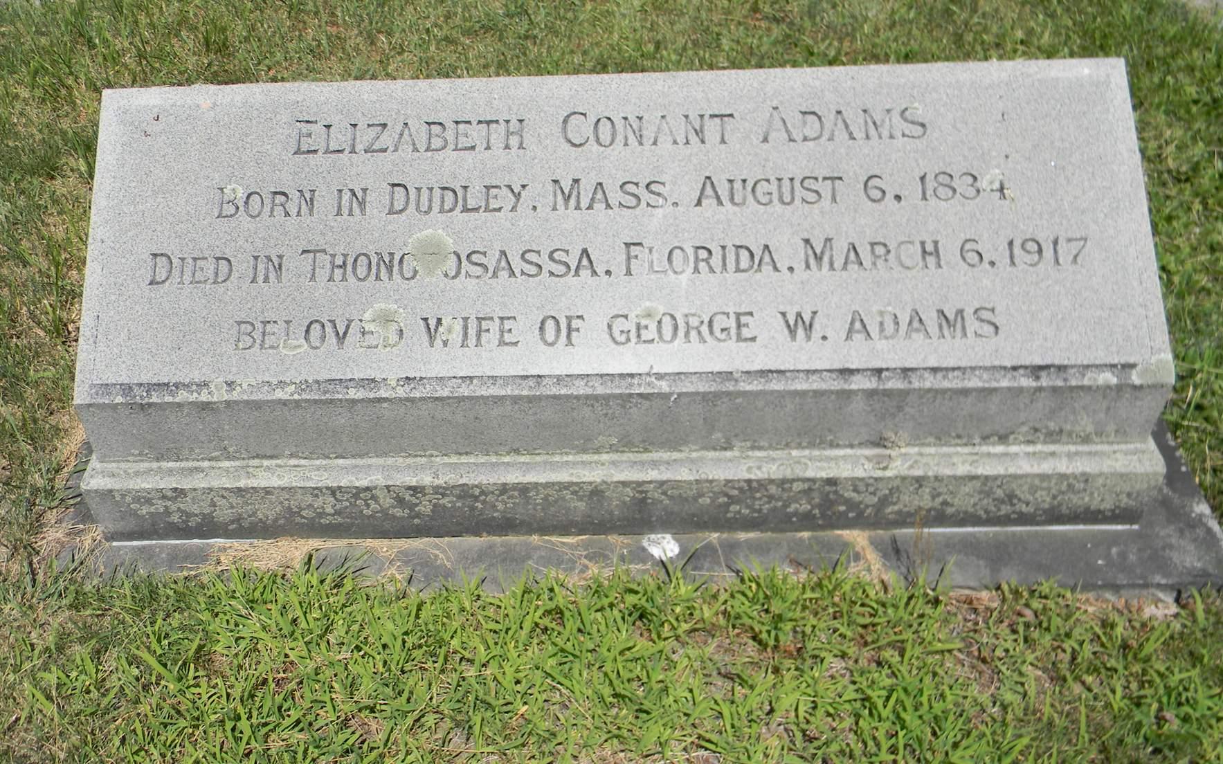 Elizabeth <i>Conant</i> Adams