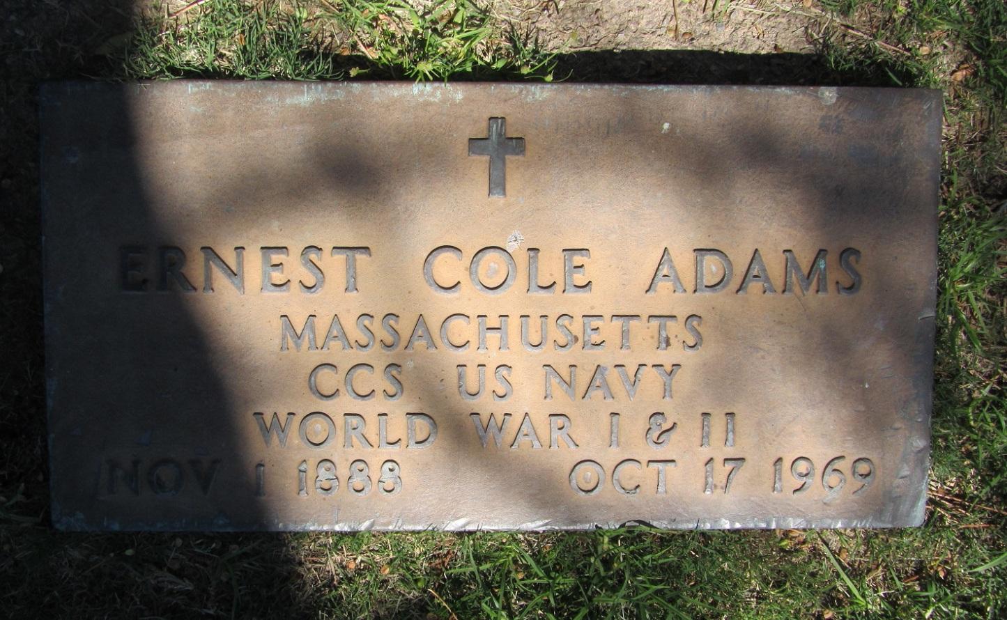 Ernest Cole Adams