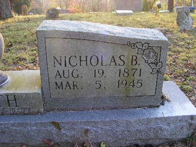 Nicholas B. Booth
