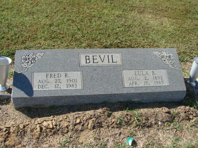 Frederick Randolph Fred Bevil 1901 1983 Find A Grave Memorial