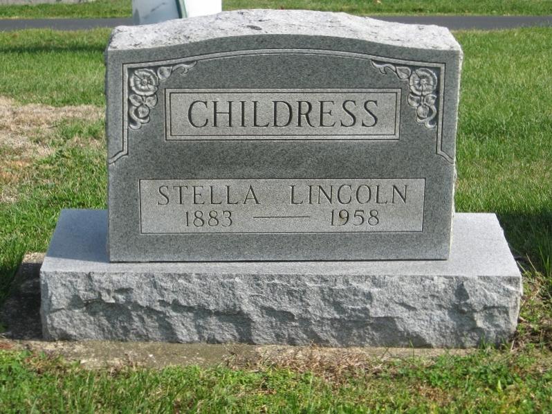 Stella <i>Lincoln</i> Childress