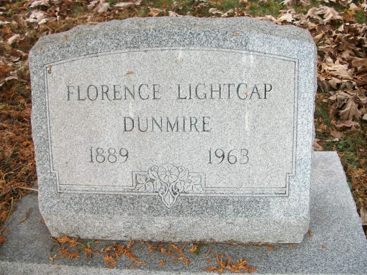 Margaret Florence <i>Lightcap</i> Dunmire