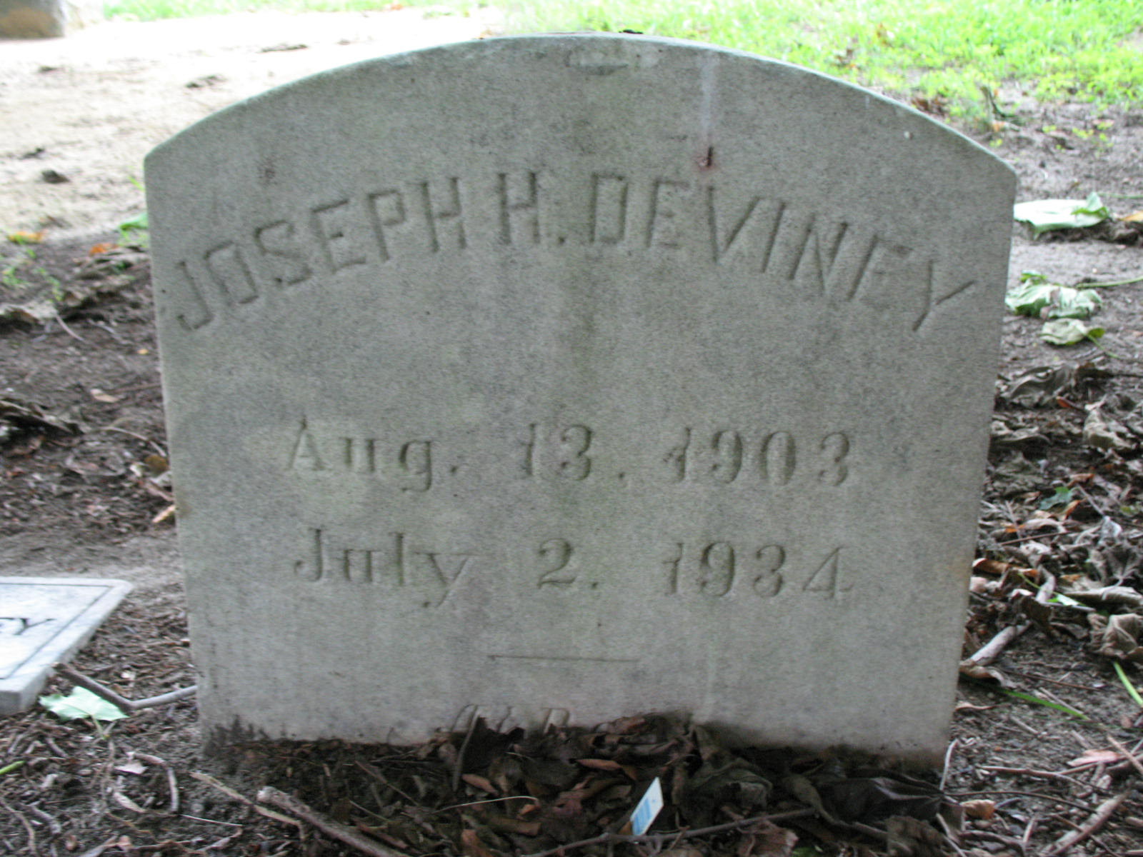 Joseph H Deviney