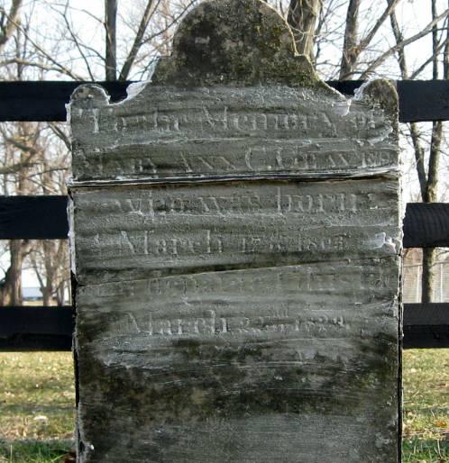 Mary Ann <i>Cox</i> Graves