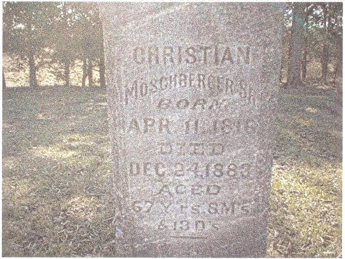 Christian John Moschberger, Sr