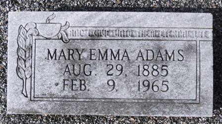 Mary Emma <i>Blanks</i> Adams