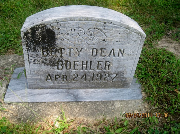 Betty <i>Dean</i> Boehler
