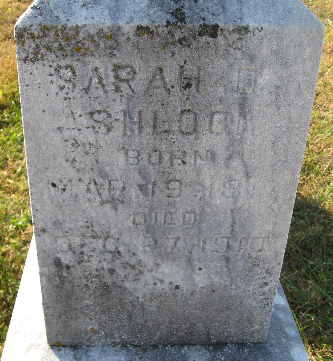 Sarah DeHart <i>Hunt</i> Ashlock