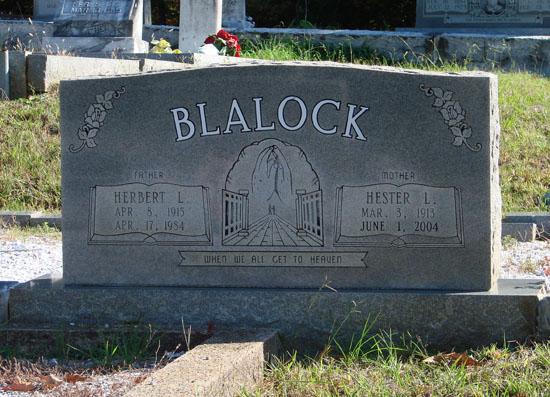 Hester Lee <i>Pope</i> Blalock