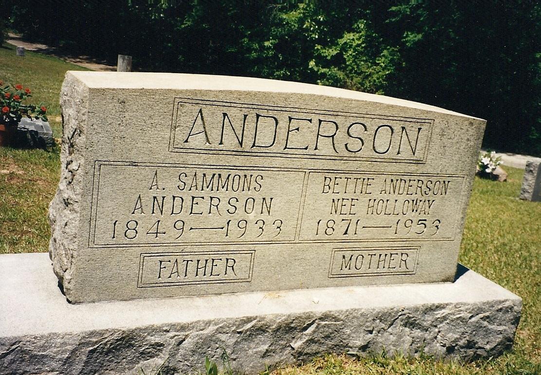 Alvin Sammons Anderson