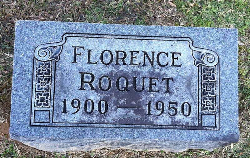 Florence <i>O'Brien</i> Roquet