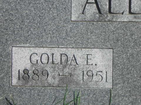 Golda E. <i>Fite</i> Alley