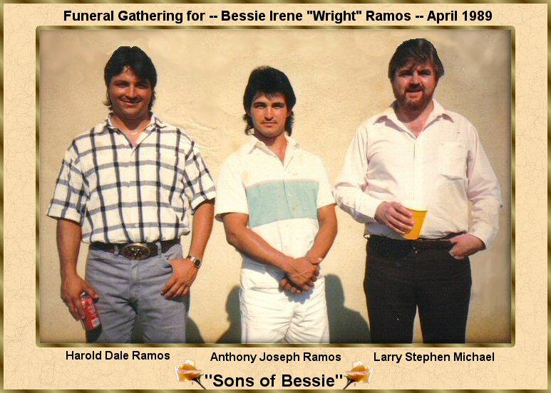 Bessie Irene <i>Wright</i> Ramos