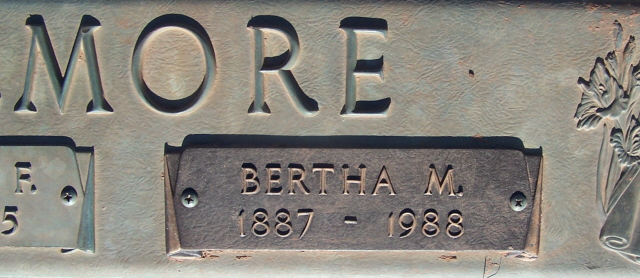 Bertha M <i>Thompson</i> Elmore