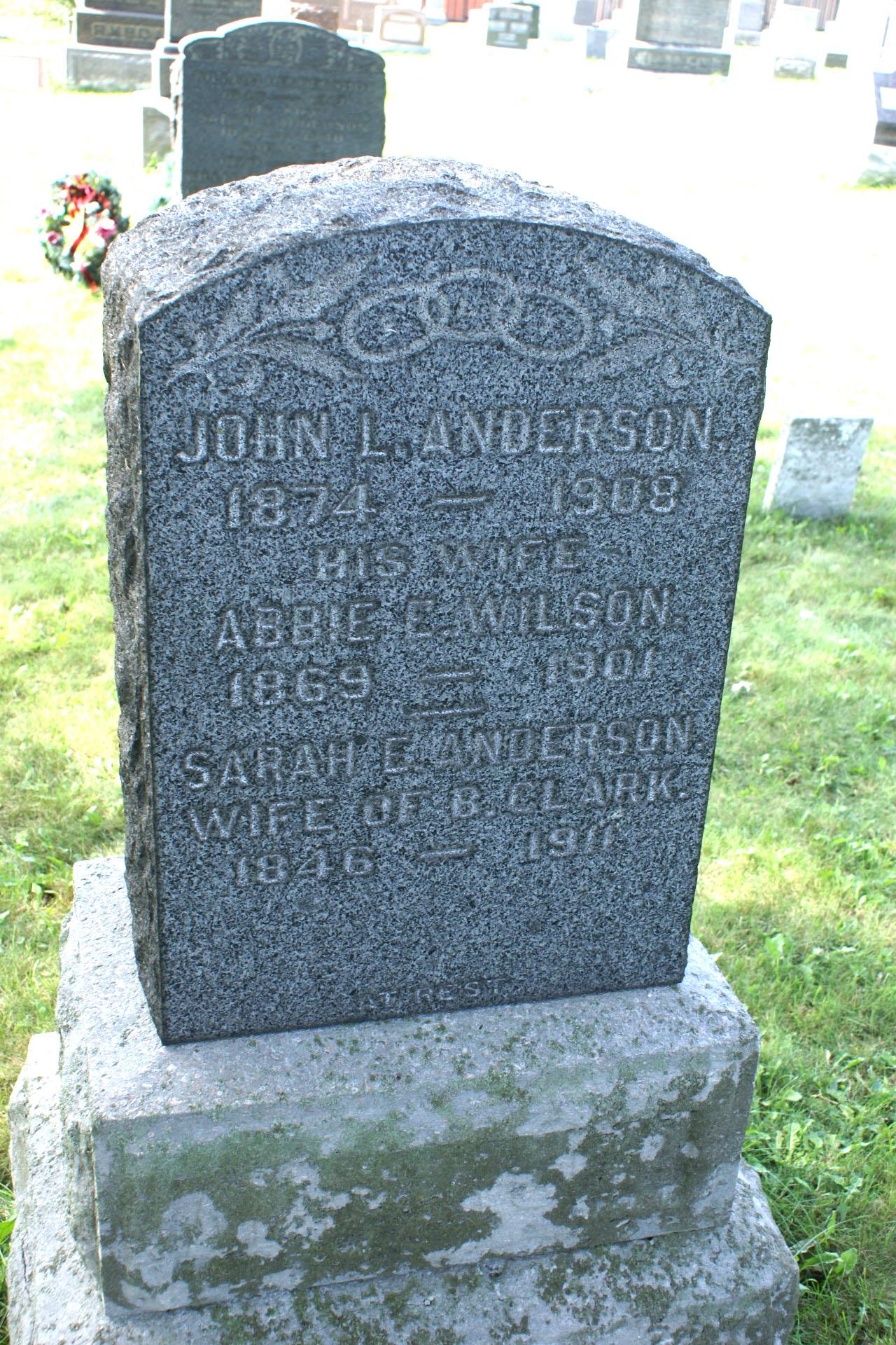 Abbie E. <i>Wilson</i> Anderson